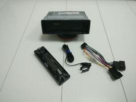 Sony MEX-N4100BT 4x55w CD,BT,NFC,USB single din head unit 'good as new'