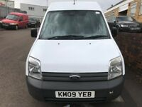 FORD TRANSIT CONNECT LWB T230 HI/TOP 2009/09REG 90000 MILES £2499 NO VAT