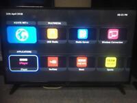 "Sharp 49"" nearly 50"" smart wifi led tv"