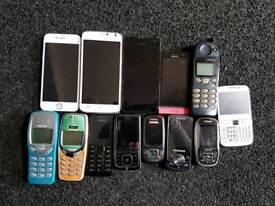JOBLOT IPHONE SAMSUNG SONY NOKIA
