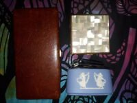 Vintage Lighter and 2 Cigarette Cases