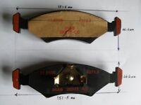 Brake Pad Set- FORD