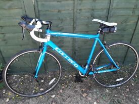 Adult road bike and accessories - only ridden 30 miles