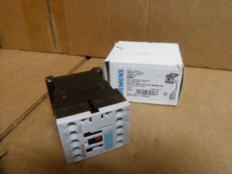 SEIMENS 3RT1017-1AP61 240 Volt Coil Contactor 5.5kw 400v