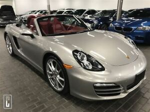 2013 Porsche Boxster ONLY 43KM, CABRIOLET, 6 SPEED