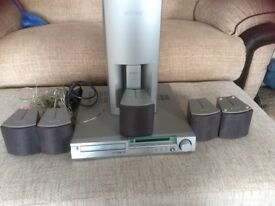Sony dvd and 5.1 speaker system