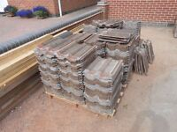 Roof Tiles Double Roman secondhand 700+