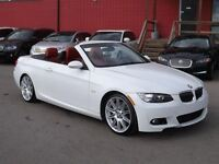 2009 BMW 335i Convertible / M-SPORT PACKAGE / MUST SEE