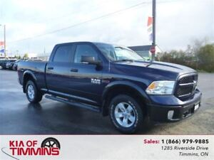 2016 Ram 1500 SLT Eco Diesel Heated Steering Wheel