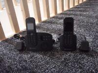 motorola cordless telephones very slim hardly used