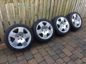 Audi Alloy Wheels (polished)