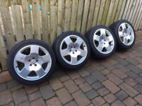Audi Alloy Wheels (polished)