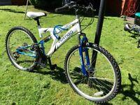 "Vertigo Mont Blanc 17"" Kids Dual Suspension Mountain Bike"