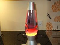 Mathmos The Original Lava lamp 17 inches high, with new bulb, good condition.