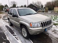 03 53 JEEP GRAND CHEROKEE 4.7 LPG GAS CONVERTED LOW 76K HISTORY FULL LEATHER FEW MINOR JOBS PX SWAPS