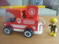 Hape Wooden Fire Truck