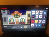 55 inch 4K Toshiba Smart TV - not even 2 months old!
