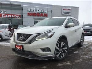 2015 Nissan Murano PLATINUM AWD| LEATHER| 20 ALLOYS| COOLED STS|