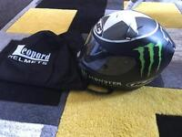 Hjc Rpha Helmet Large. Good Worn Condition. Needs New Visor Clip One Side. Cost £280.