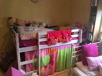 GIRLS CABIN BED £40 can deliver