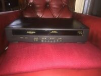 Panasonic Super Drive VHS player