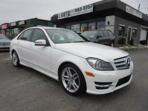2013 Mercedes-Benz Classe-C C 300 AWD CPO Warnty till June 2018.