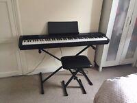 Digital Piano Casio + stool for sale