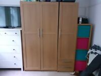 Ikea - 1 x double wardrobe - 2 x singles