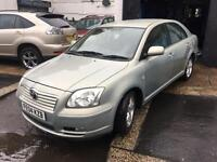 TOYOTA AVENSIS 1.8 VVT-T3-X PETROL MANUAL WITH FULL SERVICE HISTROY +2 keys