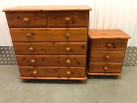 Matching Chest of drawers and cabinet with FREE DELIVERY