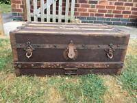 Vintage traveller's trunk