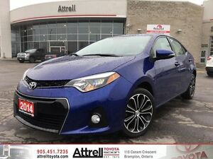 2014 Toyota Corolla S Prem Pkg Alloys, Leather, Sunroo, Fog, Pwr
