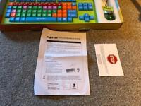 Children's large keyboard & mouse. USB connection to pc or laptop