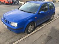 1999 VOLKSWAGEN GOLF 1.4 PETROL .. READY TO DRIVE AWAY