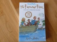 NEW FAMOUS FIVE ON A TREASURE ISLAND PAPERBACK