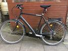 23 inch (59cm) Bristol Bicycles Park Street Hybrid Bicycle