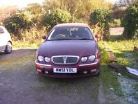 Rover 75 Diesel Automatic & low mileage