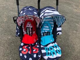 Cosatto Sis and Bro Double Stroller