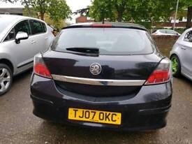 1.4 litre 2007 reg vauxhall Astra 3door.service history.new mot