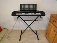Yamaha PSR-76 AWM Keyboard with Stand