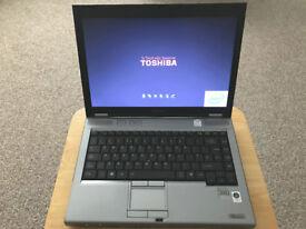 Toshiba Tecra M9 14.1inch laptop 80Gb drive 1Gb RAM