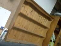 Pine wood shelf shabby chich