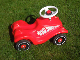 Bobby Classic Car - Red - ride on toddler car
