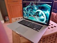 Apple MacBook Pro 15 Core i7 - 8gb RAM - 1 Terabyte HD
