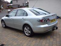 Mazda 6 2ltr diesel silver
