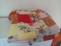 Double Bed Size Patchwork Quilt