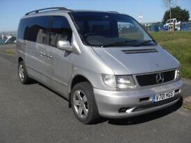 Mercedes V Class Ambiente Vito MPV & seater.