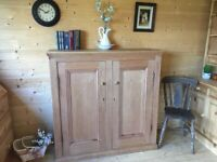 very large old storage cupboard cabinet dresser chest sideboard shelving unit