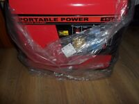 Honda generator Portable power super silent 4500.