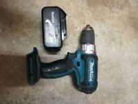Makita bdf452 cordless drill with li-ion 3ah battery